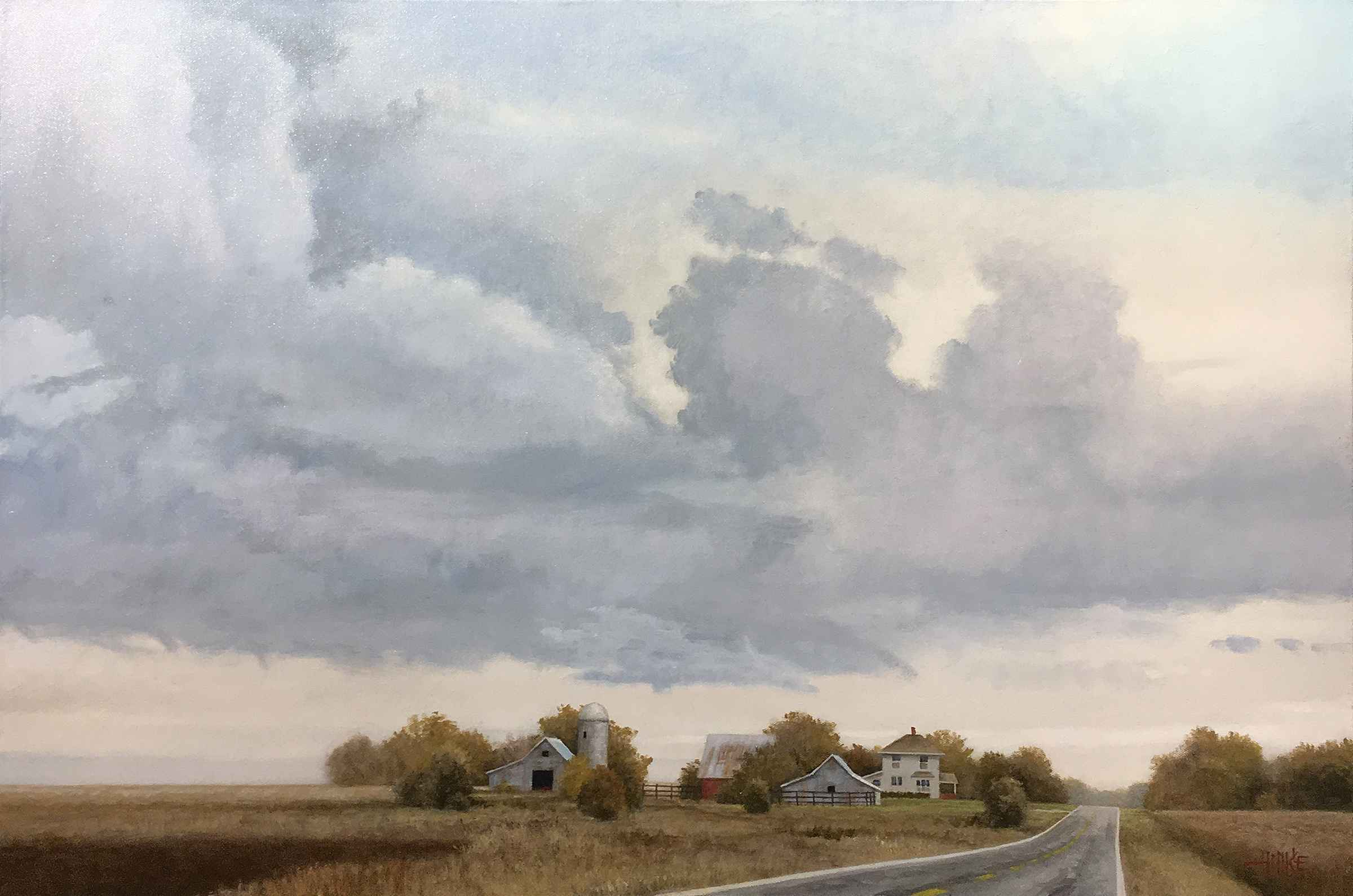 Afternoon Thunderstorm by  Brian Hinkle - Masterpiece Online