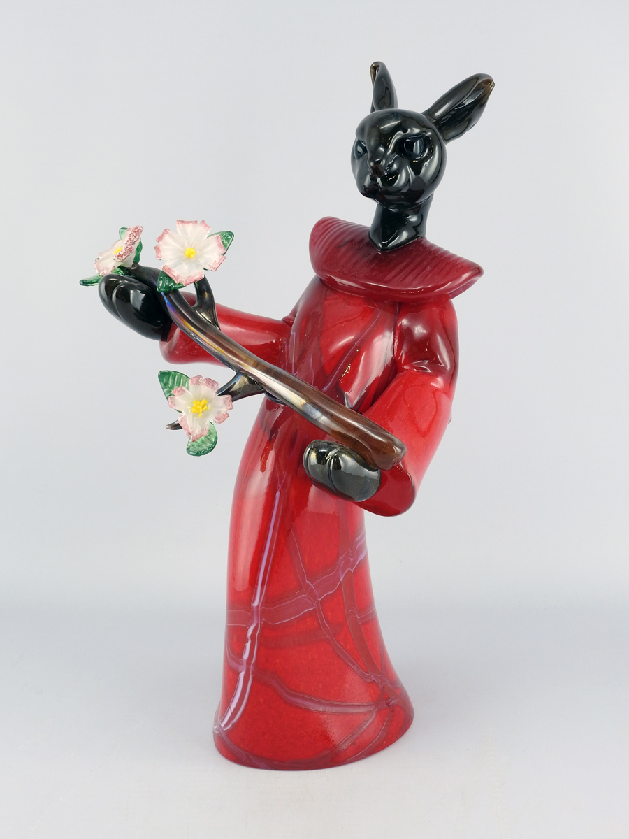 Red Arborist by  Julia & Robin Rogers - Masterpiece Online