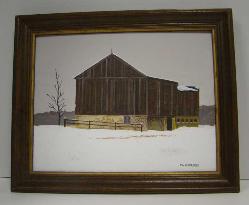 WC430 Winter by  William Cordes - Masterpiece Online