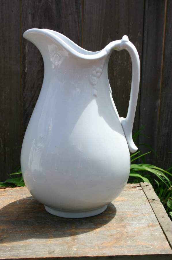 White Pitcher by  Antiques  - Masterpiece Online