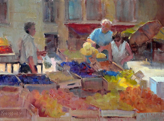 San Margherita Produce by Ms Peggy Kingsbury - Masterpiece Online