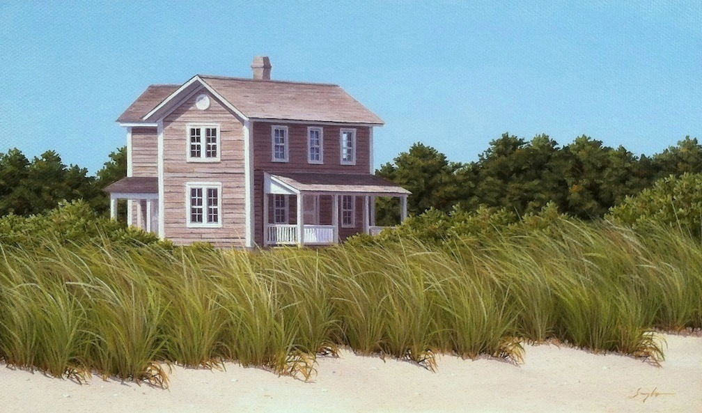 Island House by  Jack Saylor - Masterpiece Online