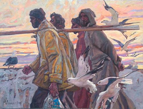 Essaouira Promenade 2 by  Daud Akhriev - Masterpiece Online