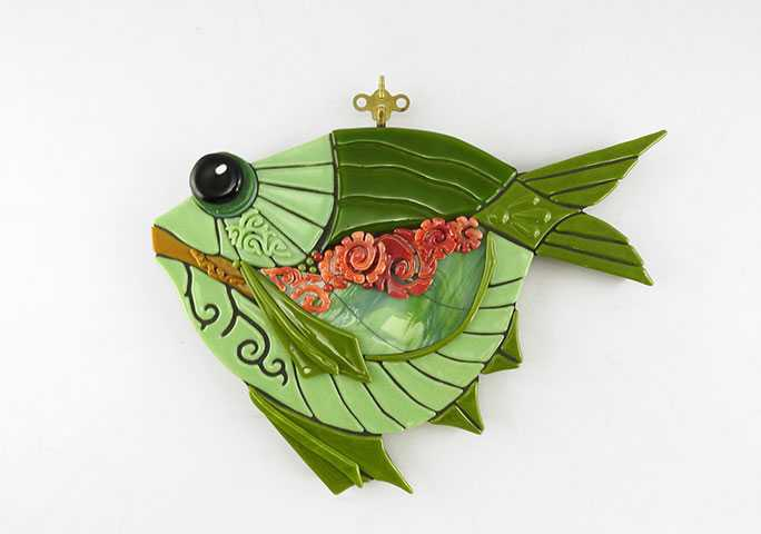 Wind Up Fish by  Juli Hulcy - Masterpiece Online