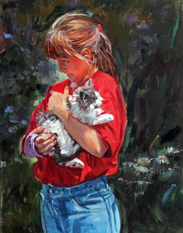 The Neighbor's Kitty by  Barbara Summers Edwards - Masterpiece Online