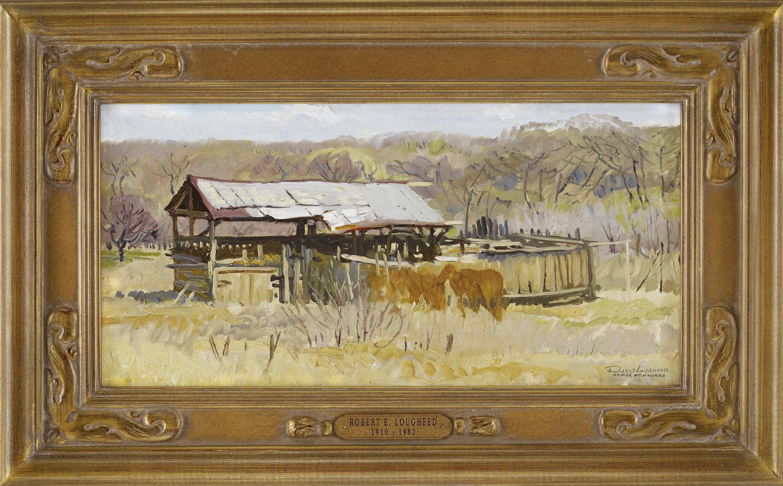 Barns & Corral - Namb... by  Robert Lougheed - Masterpiece Online