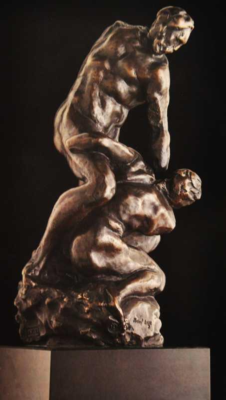 Due Lottatori by  Michelangelo  - Masterpiece Online