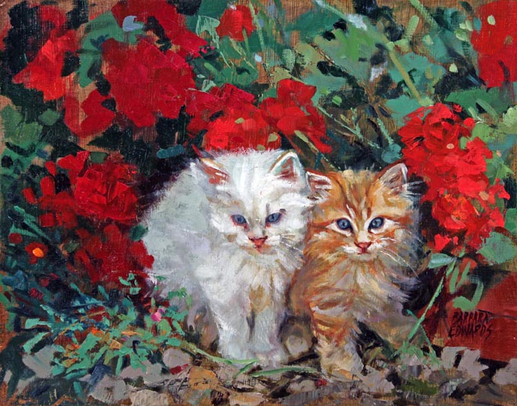 Little Ones by  Barbara Summers Edwards - Masterpiece Online