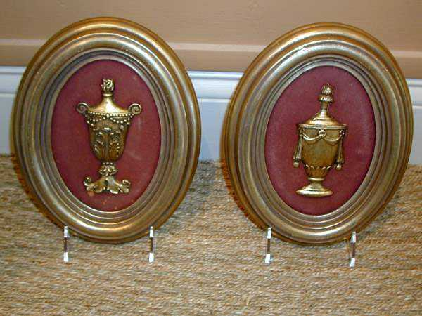 Pair of Plaques by  None None - Masterpiece Online