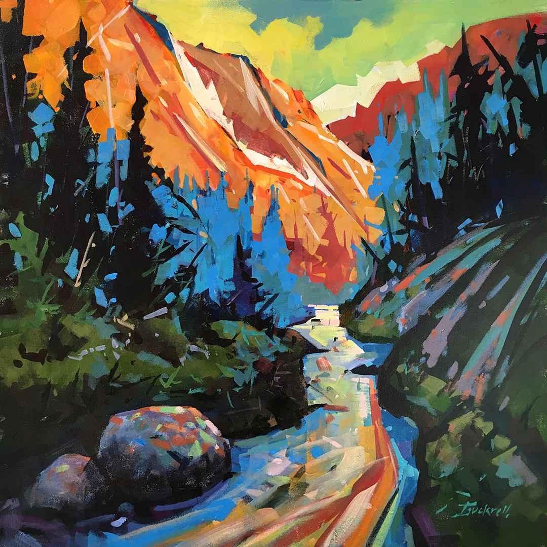 Island Mountain Strea... by  Brian Buckrell - Masterpiece Online