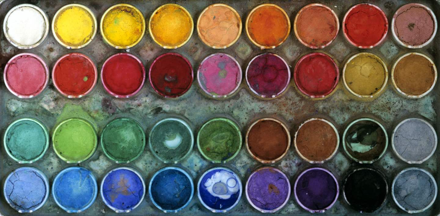 Watercolor Paint Box,... by  Alison Shaw - Masterpiece Online