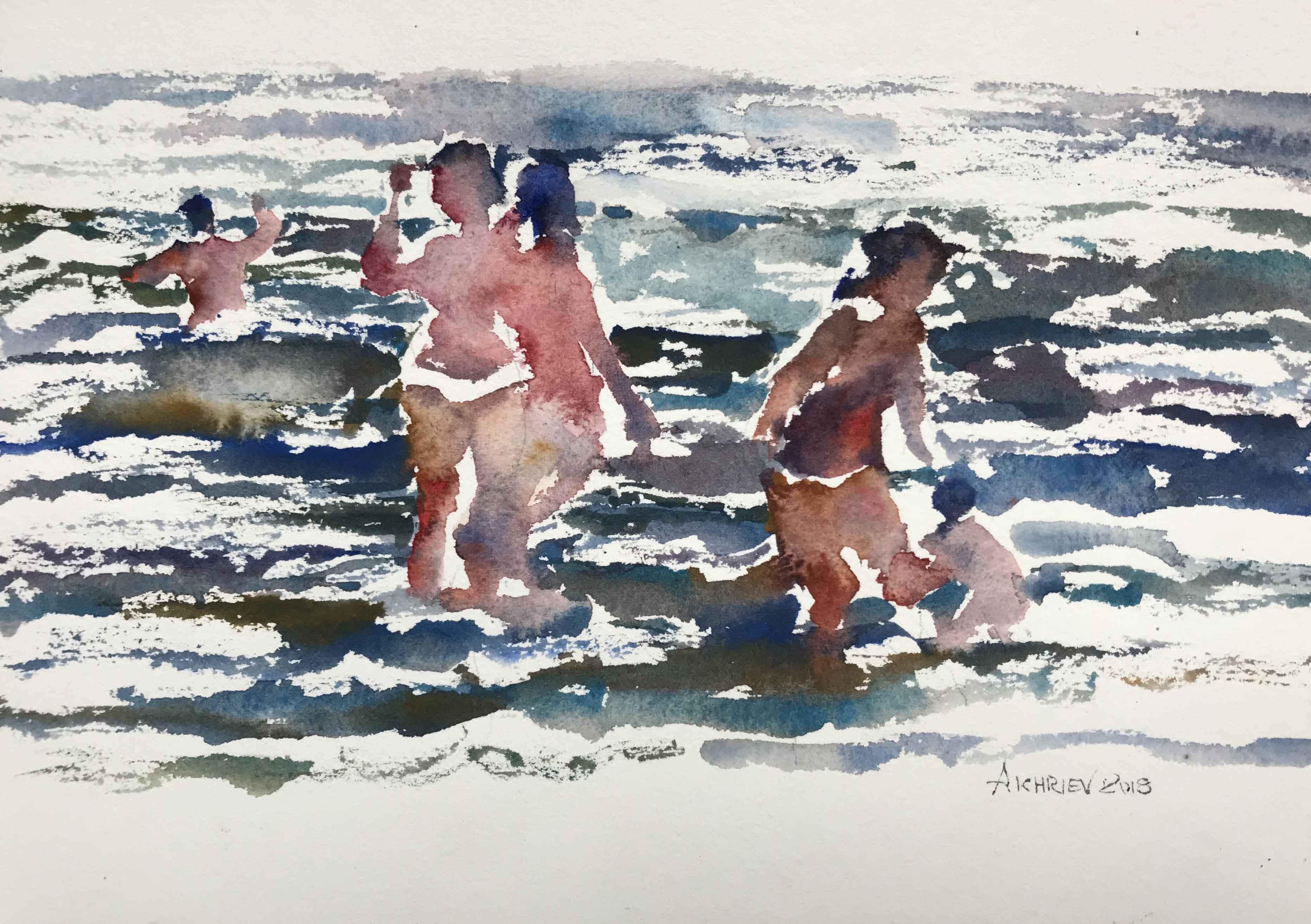 Beach Series IX by  Daud Akhriev - Masterpiece Online