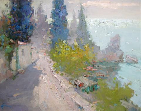 Early Morning by  Slava Korolenkov - Masterpiece Online