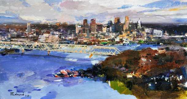 Cincinnati from Mt. E...