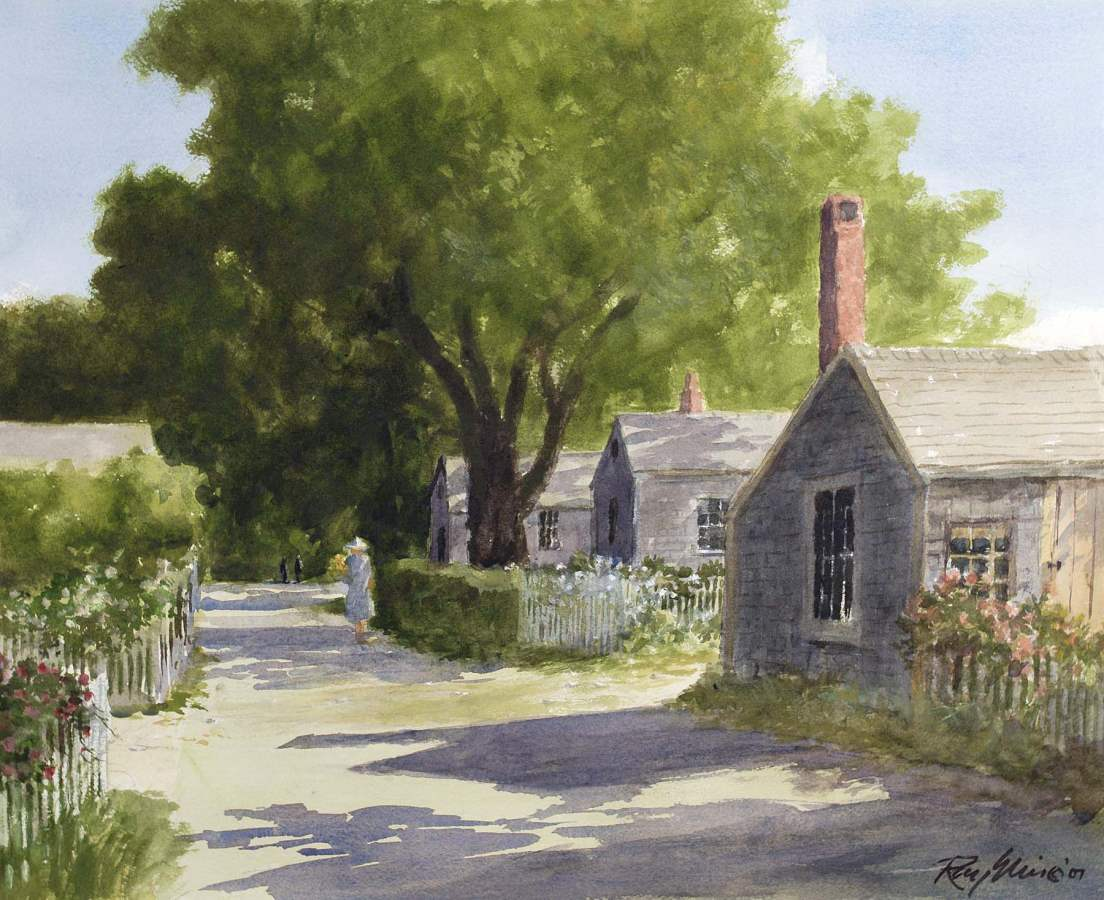 Siasconet Lane by  Ray Ellis - Masterpiece Online