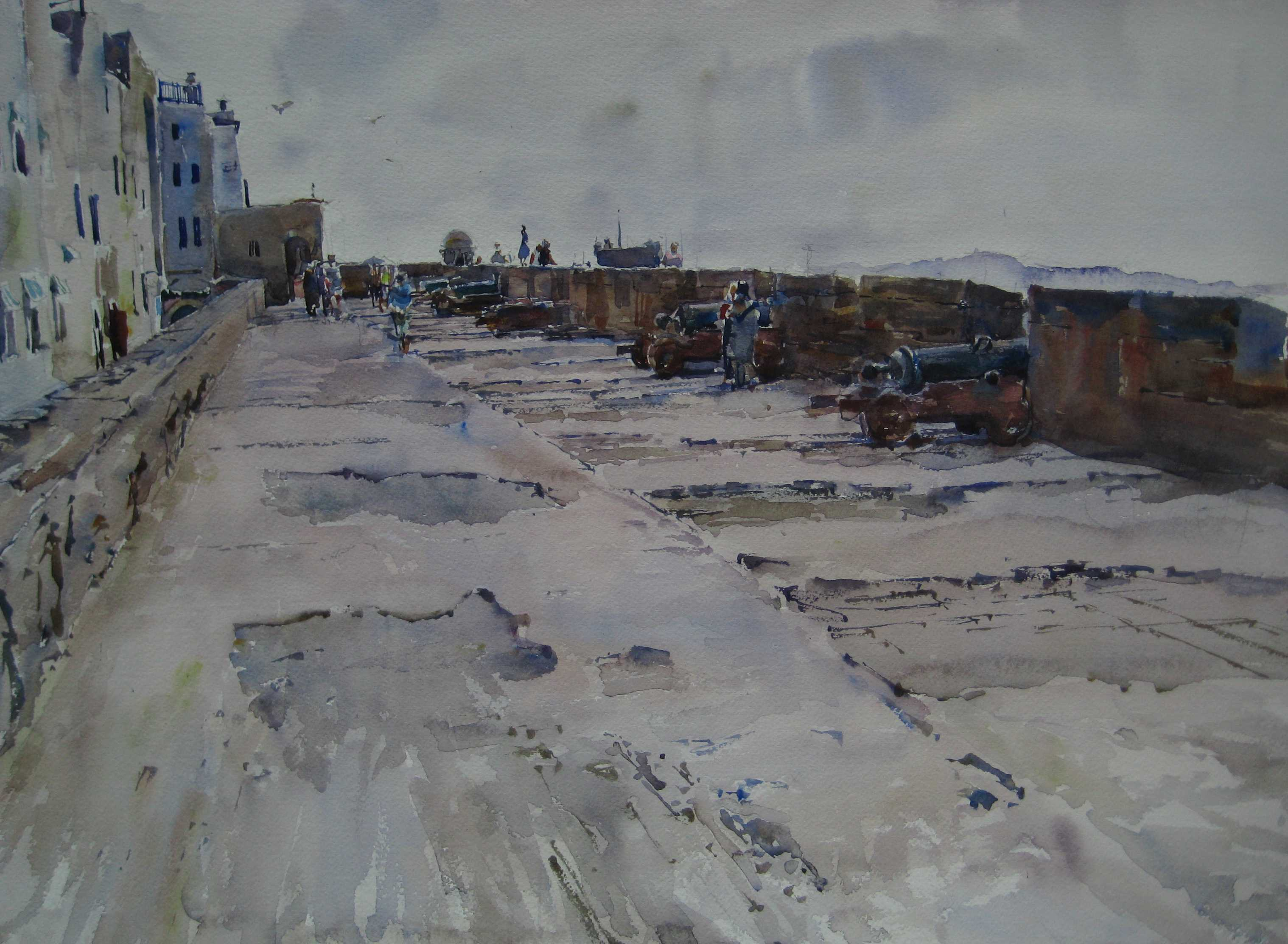 Battery of Essaouira by  Daud Akhriev - Masterpiece Online
