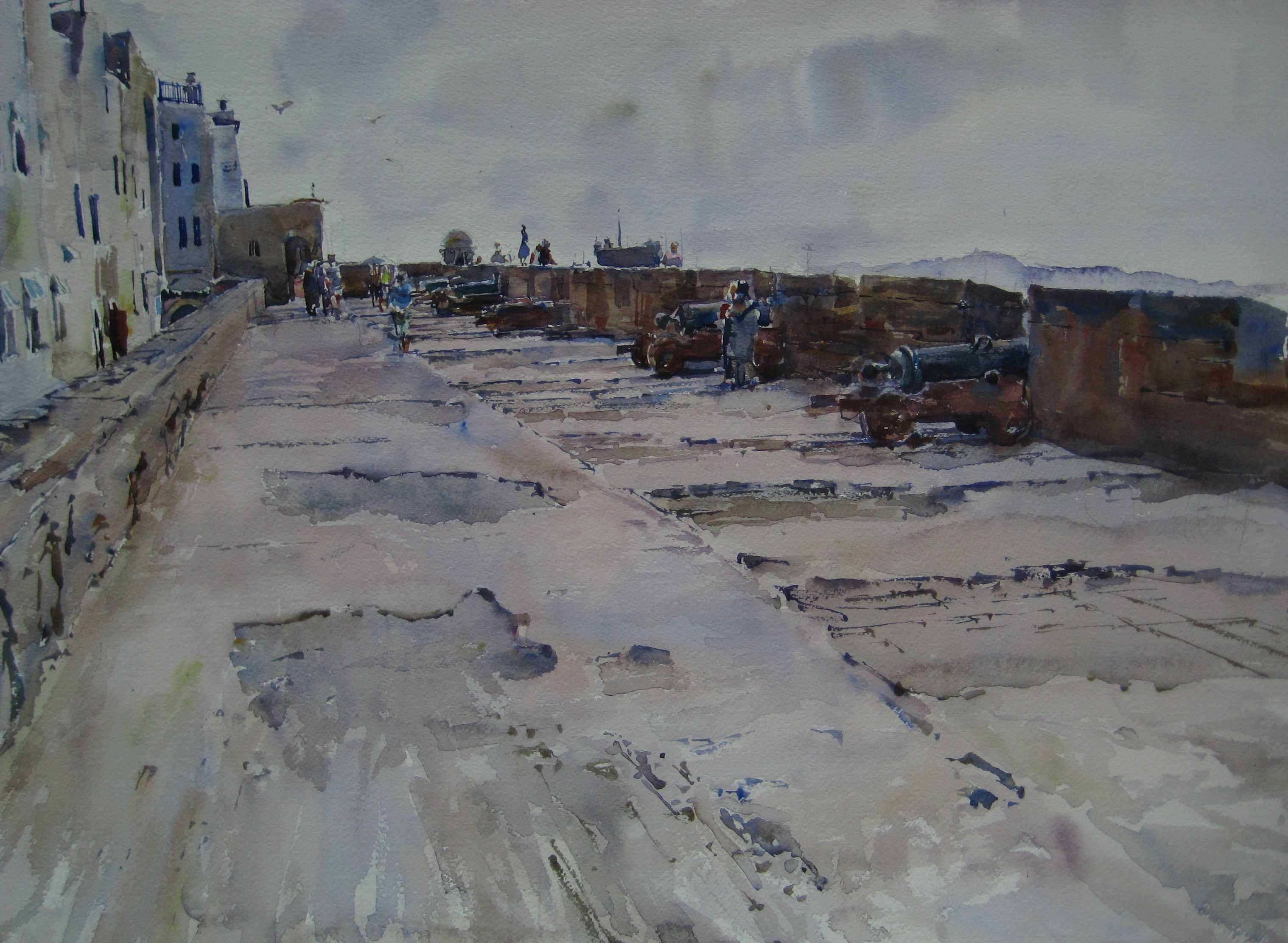Battery of Essaouira by  Daud Akhriev - Masterpiece Online