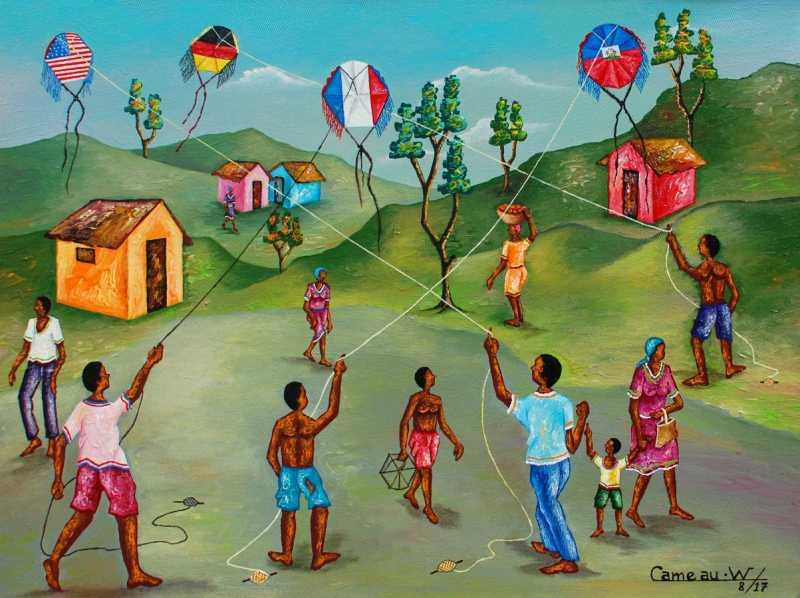 Kites by  Widson CAMEAU - Masterpiece Online