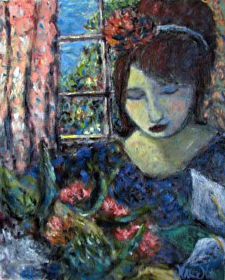 Arranging the Flower by  Matthew Morillo - Masterpiece Online
