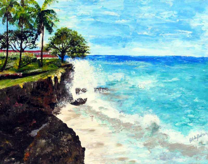 The Splash by Mrs. Hazel-Ann Mahy-Batson - Masterpiece Online