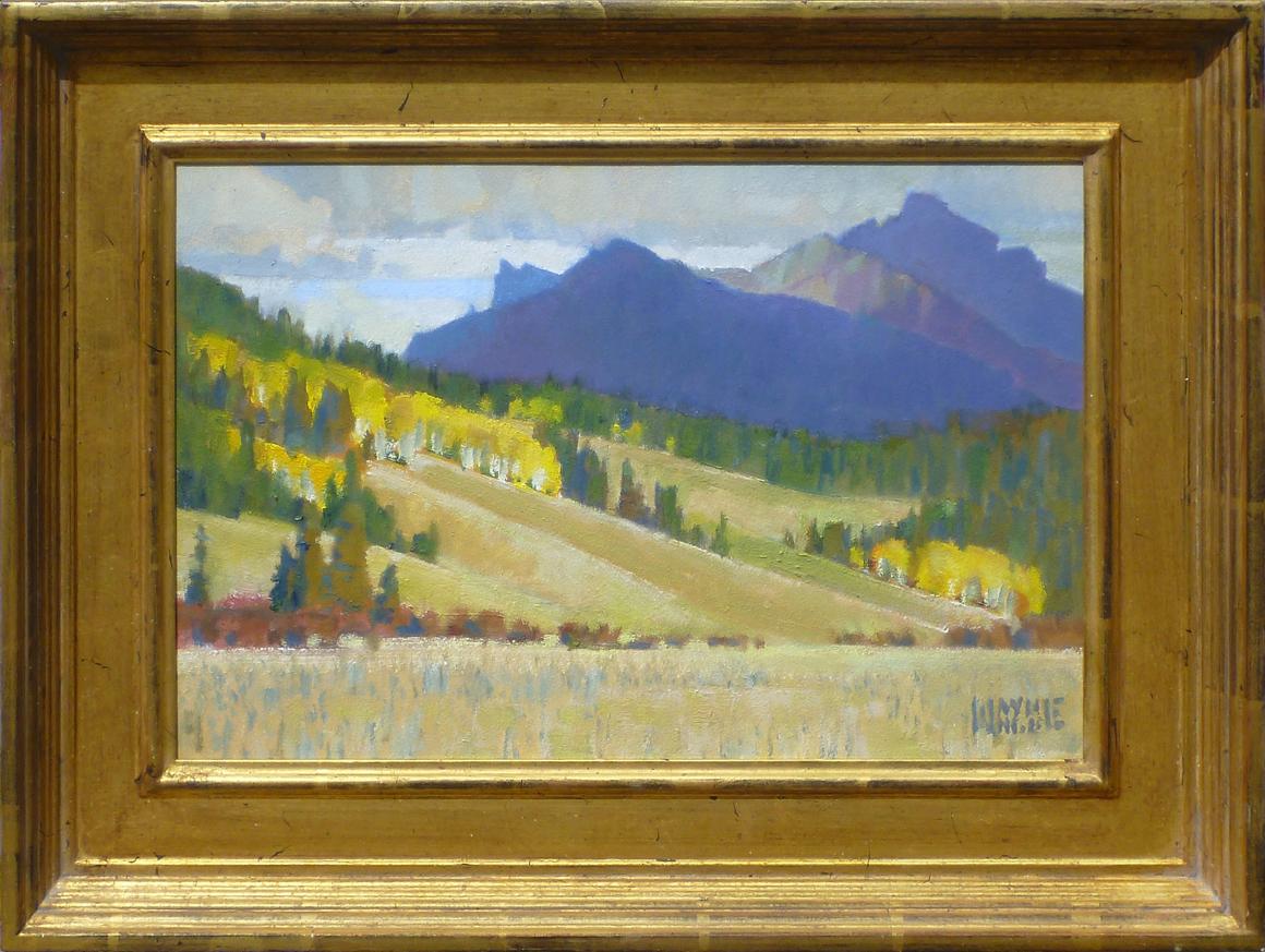 Clouds and Peaks by Mr. Wayne Wolfe - Masterpiece Online