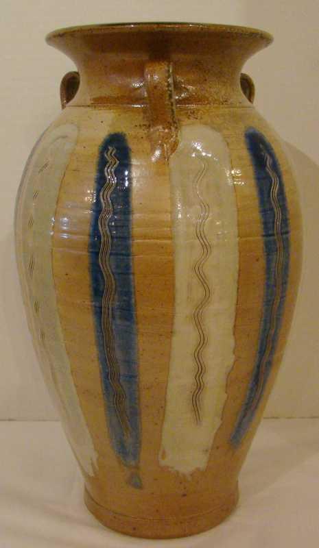 PR037 Blue Striped Va... by  Patrick Rowe - Masterpiece Online