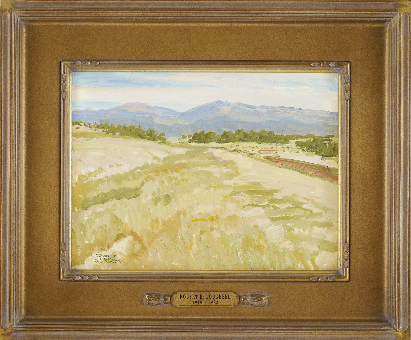 New Mexico Landscape by  Robert Lougheed - Masterpiece Online