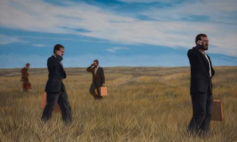 Lost in the Badlands by  Christopher Pothier - Masterpiece Online