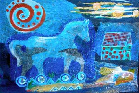 Night Rider by Mrs Fran Patterson - Masterpiece Online