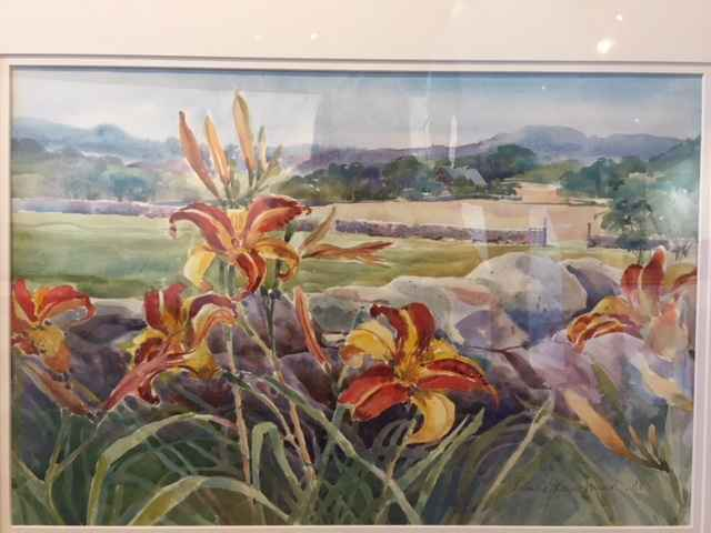 UpIsland Day Lilies by  Patricia Mead - Masterpiece Online
