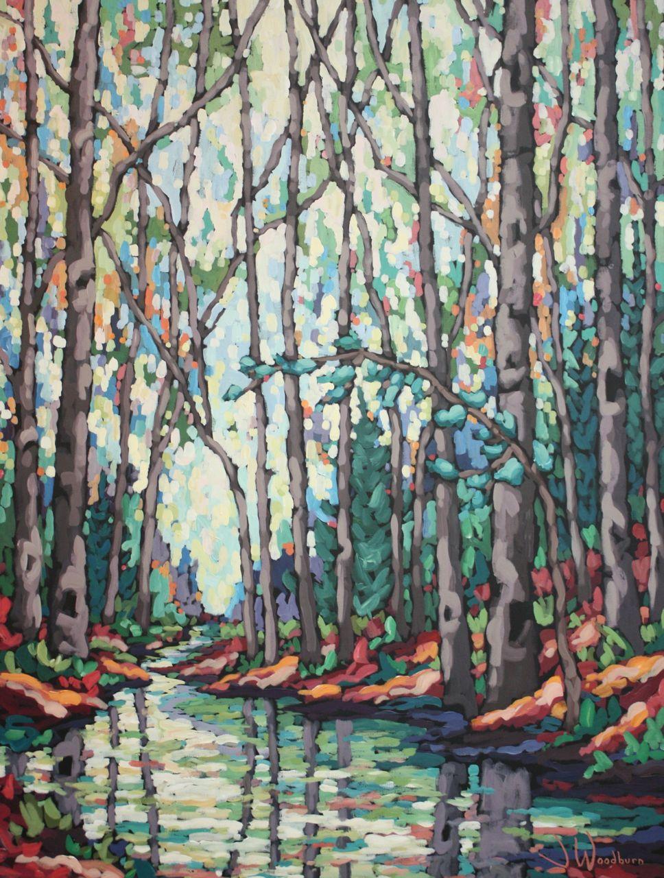 Reflective Nature by Ms Jennifer Woodburn - Masterpiece Online
