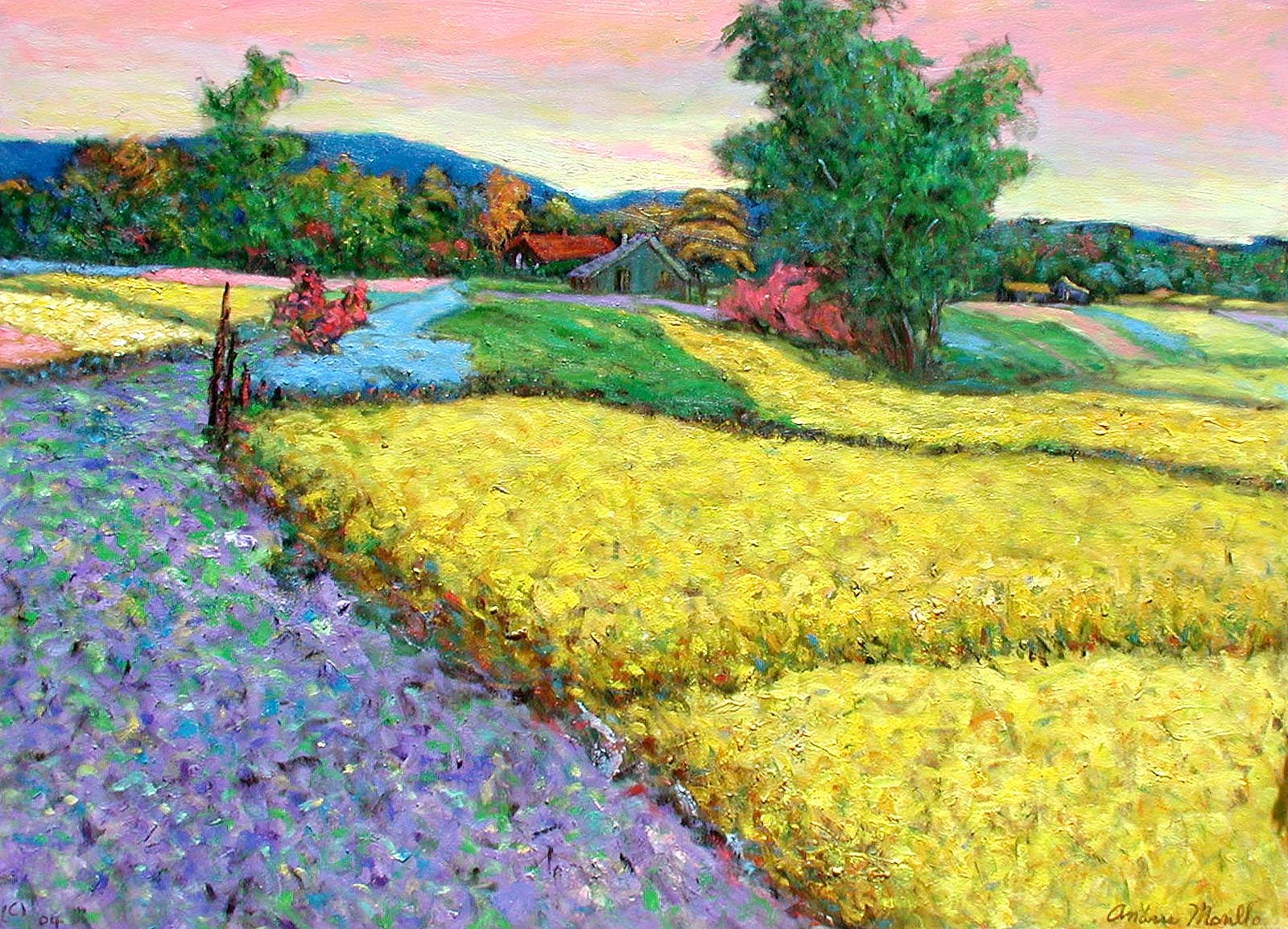 Kent Farmland by  Andres  Morillo - Masterpiece Online
