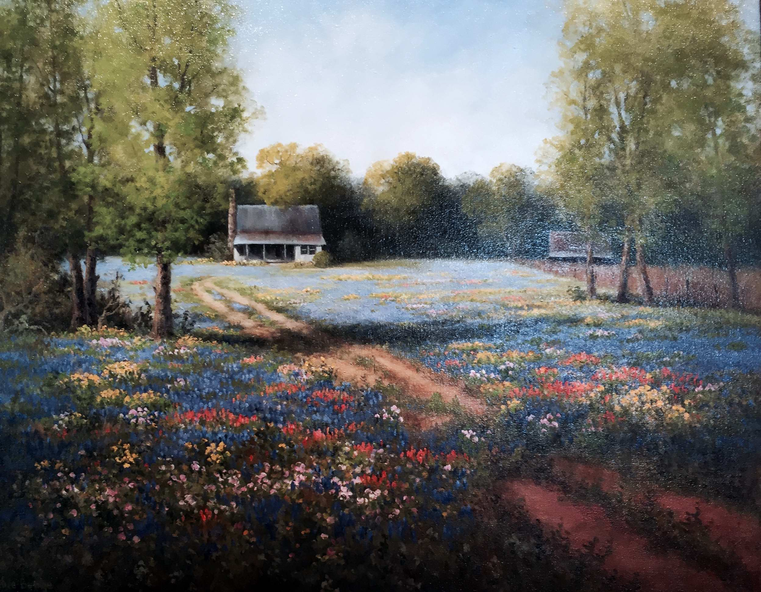 Home in the Spring by Mrs Milbie Benge - Masterpiece Online
