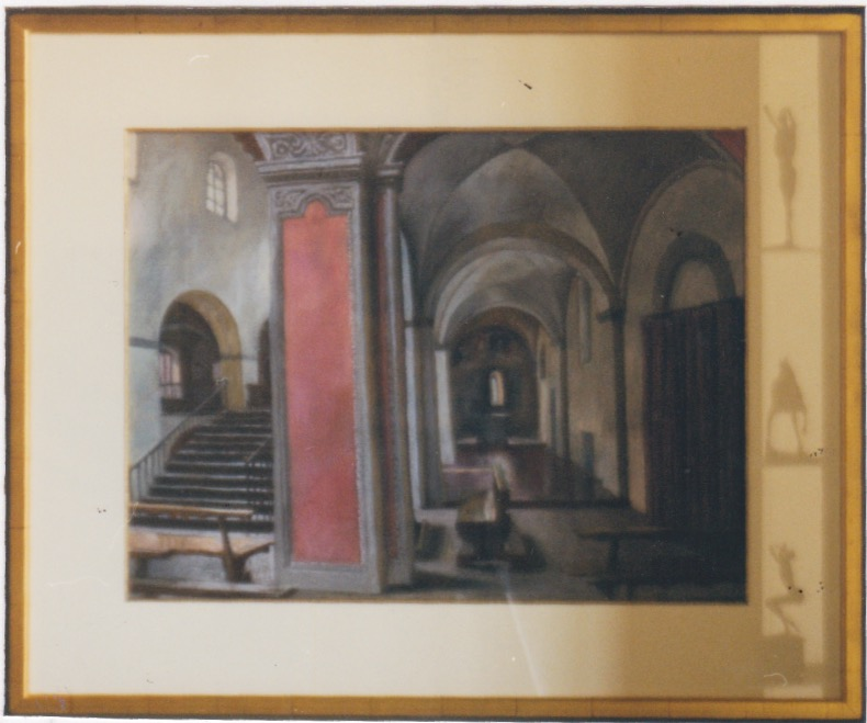 Interior of San Vitto... by  Daud Akhriev - Masterpiece Online