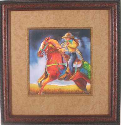 Roma Rides The Range by MS Nancy Dunlop Cawdrey - Masterpiece Online