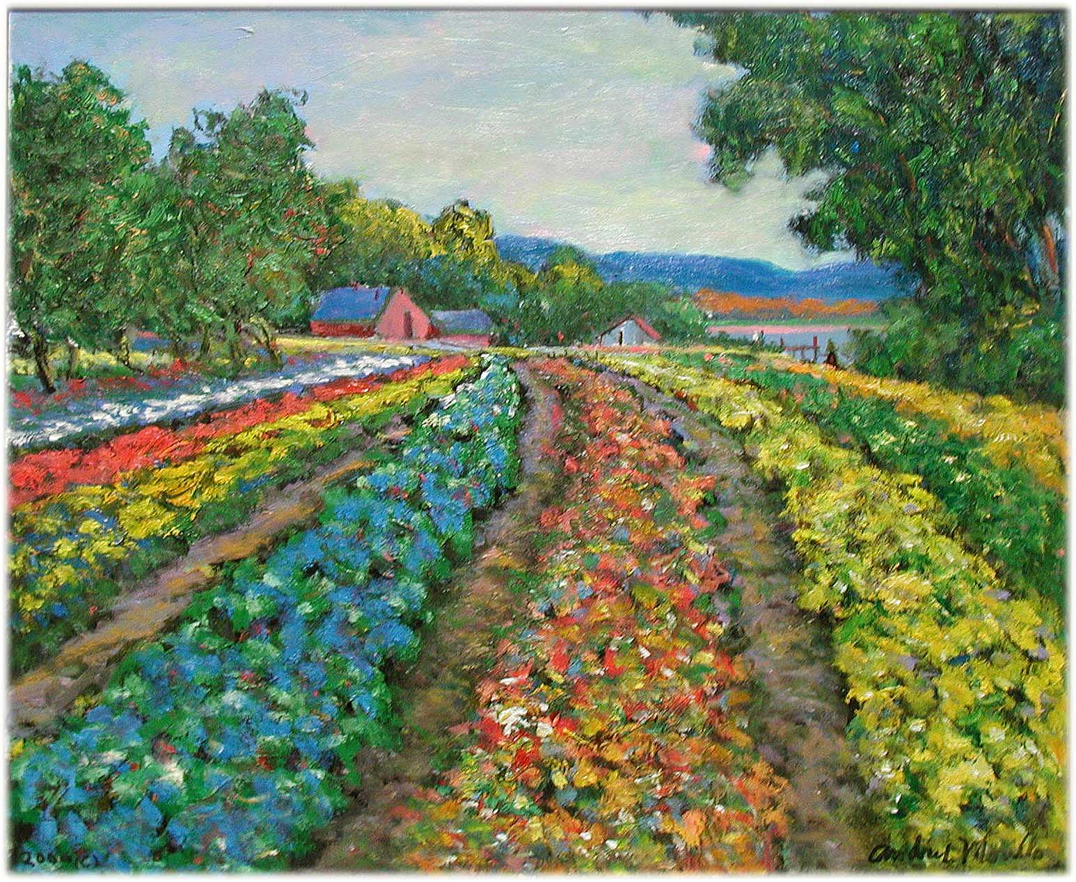Morning at the Flower... by  Andres  Morillo - Masterpiece Online