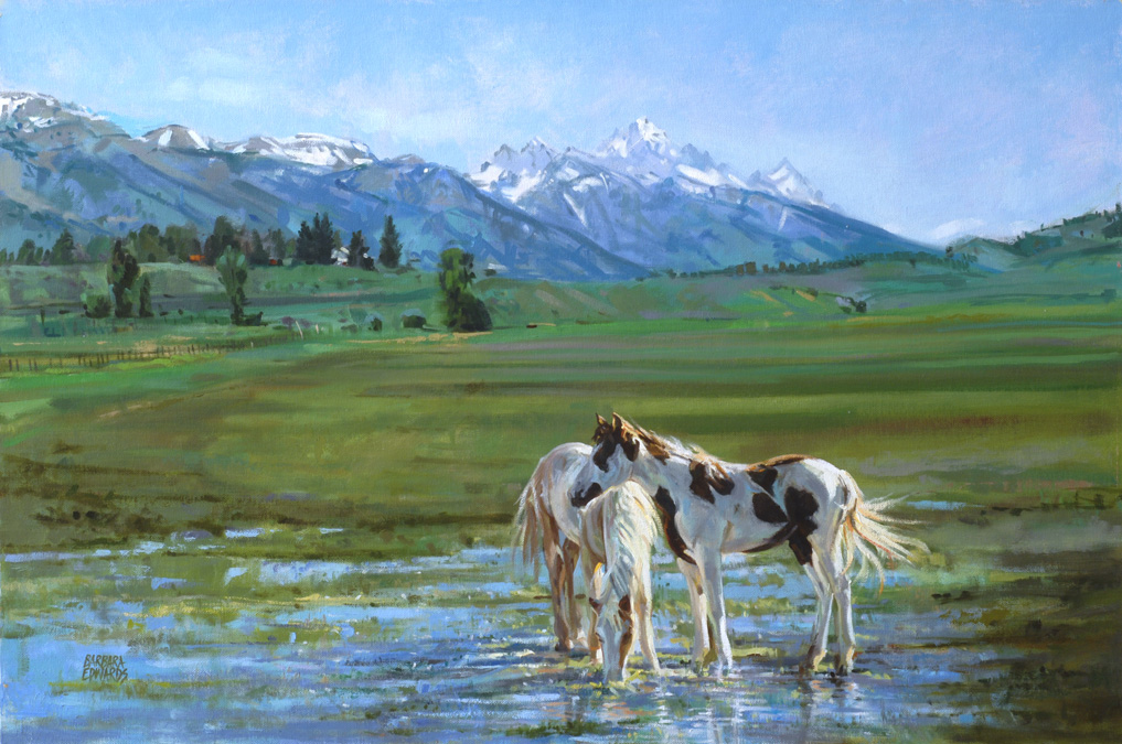 SOLD- June Morning by  Barbara Summers Edwards - Masterpiece Online