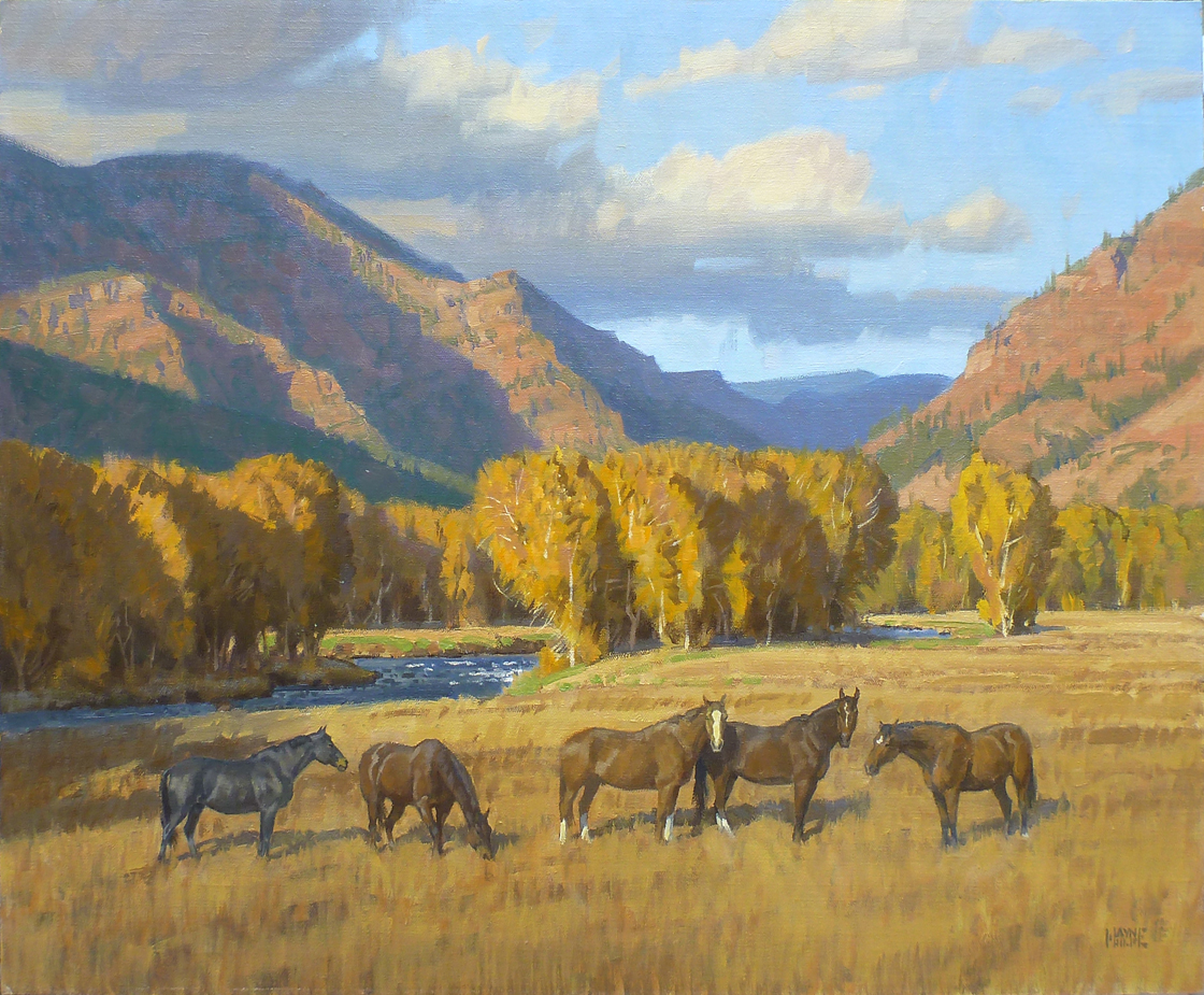 Horses of the Flying ... by Mr. Wayne Wolfe - Masterpiece Online