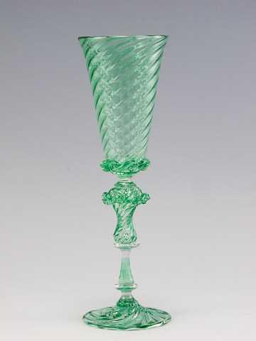 Goblet/Emerald by  Clayton Ballew - Masterpiece Online