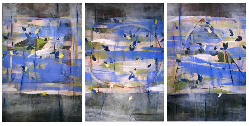 Prima Vera (triptych) by  George Woollard - Masterpiece Online