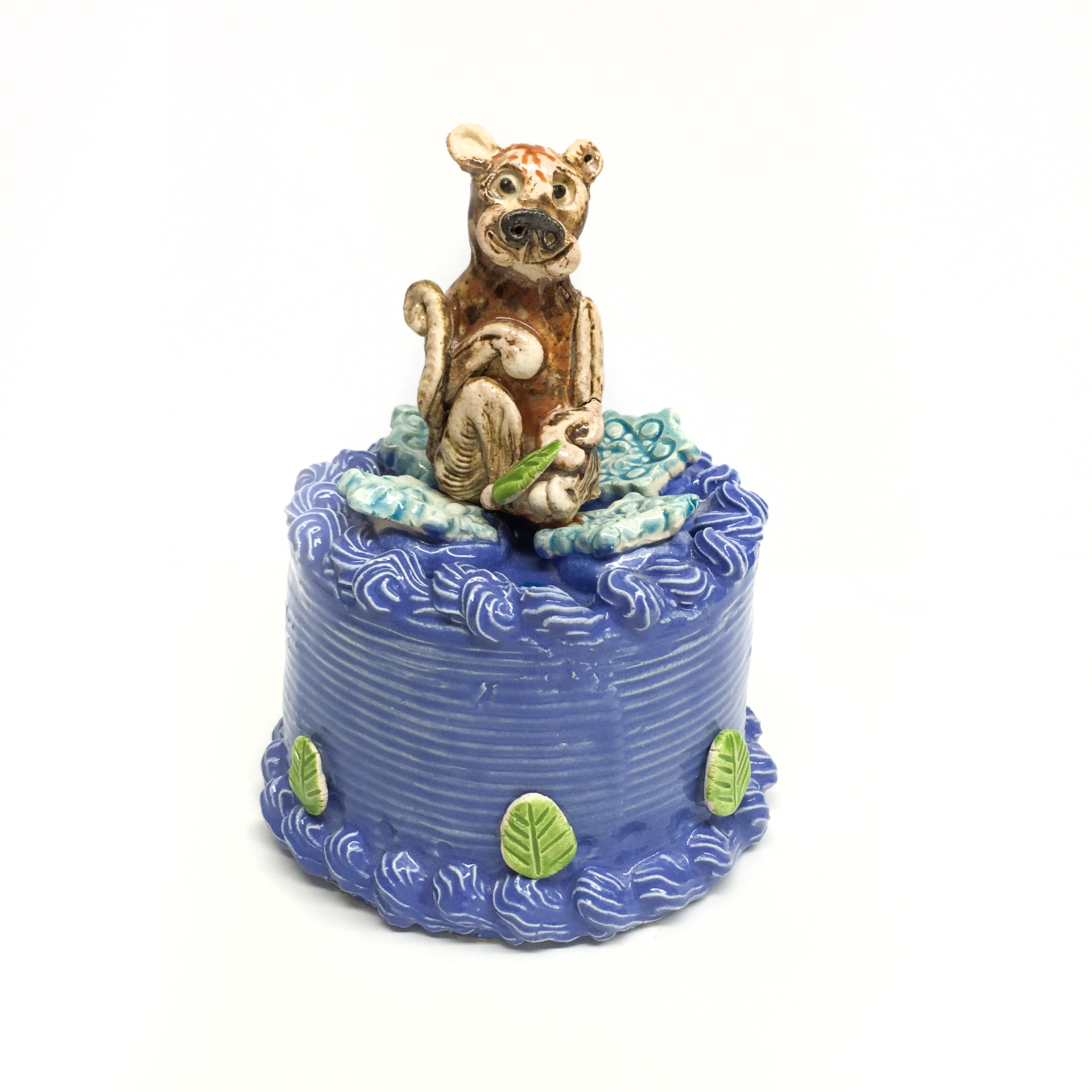 Monkey On Cake  by  Jeff Nebeker