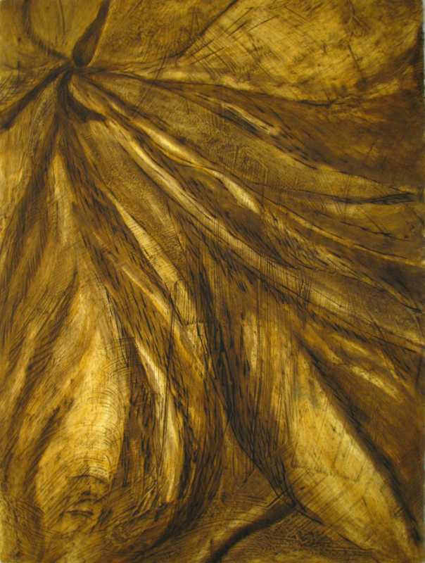 Naupaka Brown diptych... by  Louise Barr - Masterpiece Online