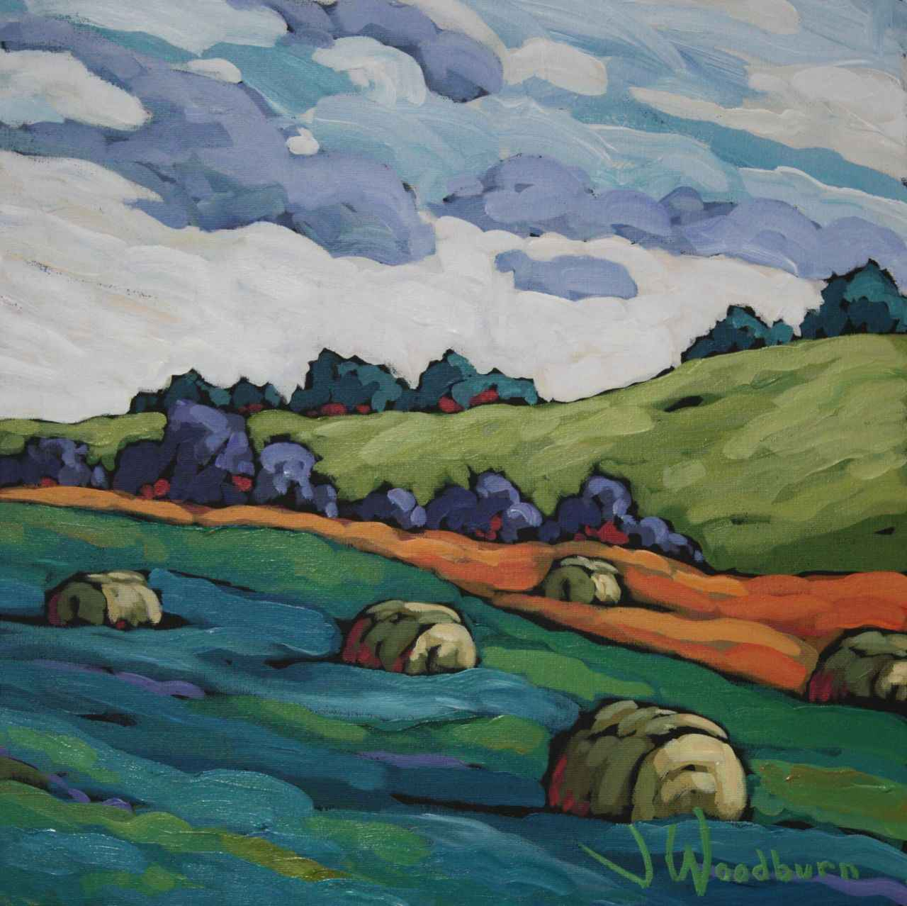 Colour In Those Fields by Ms Jennifer Woodburn - Masterpiece Online