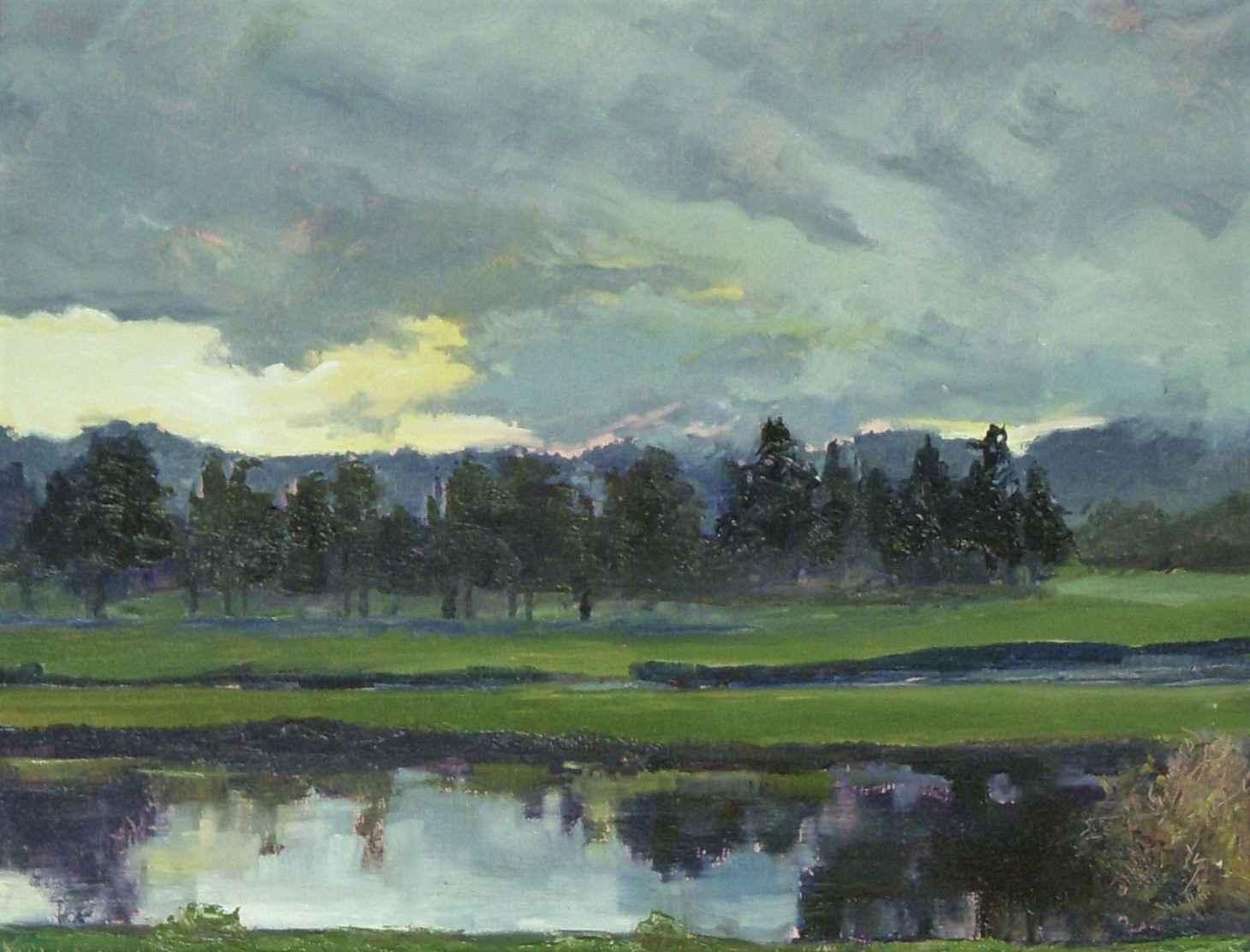 Winter at Heron Lakes by  David McBride - Masterpiece Online