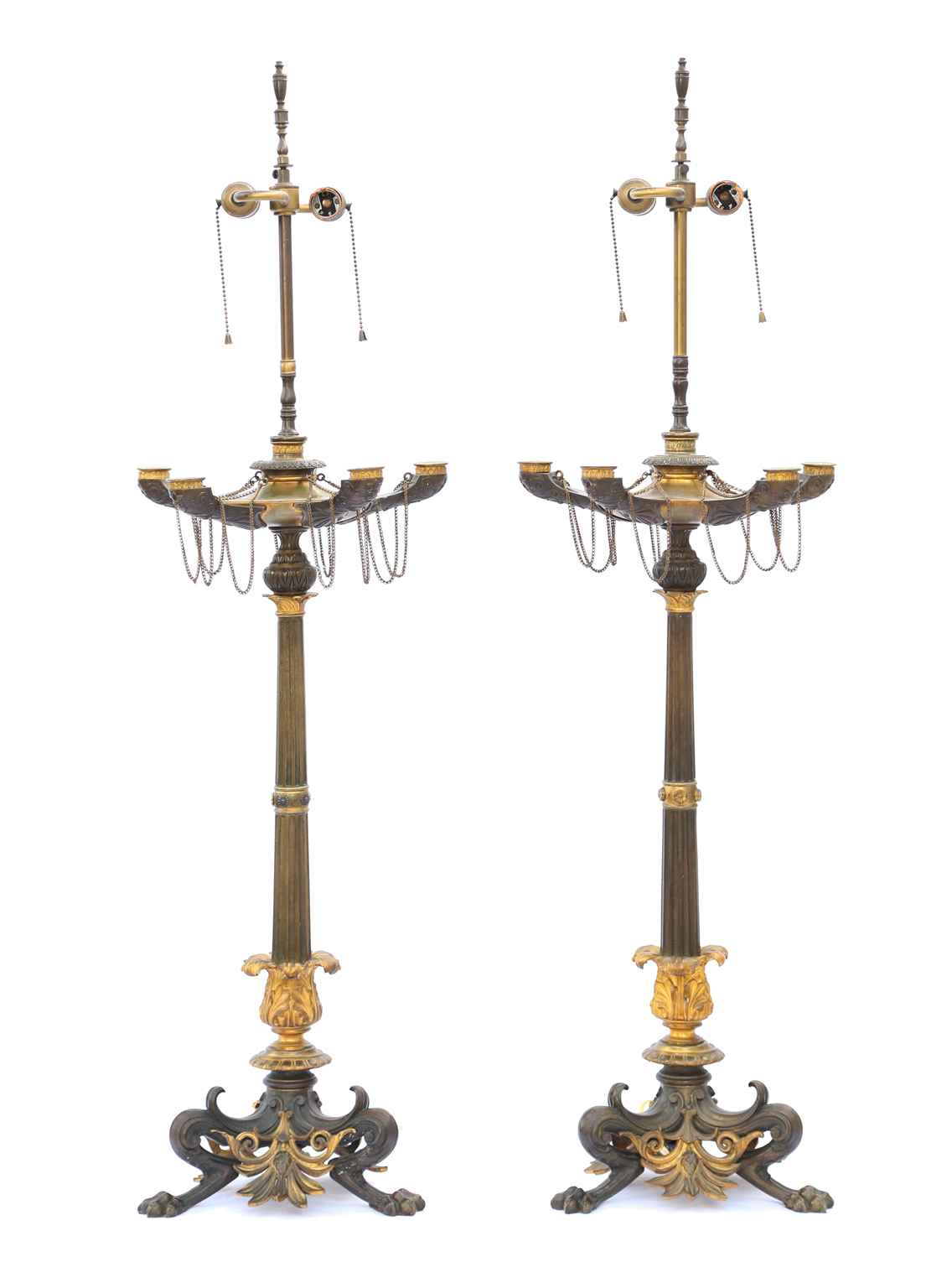 Pair of Regency Patin... by  French  - Masterpiece Online