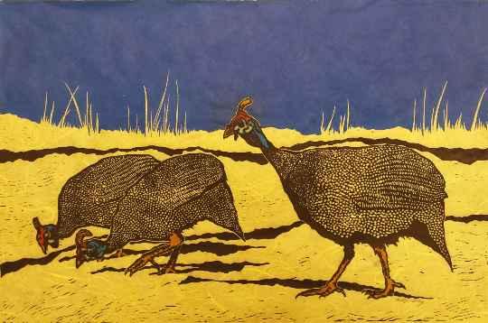 Guinea Fowl by  Katherine Grey - Masterpiece Online
