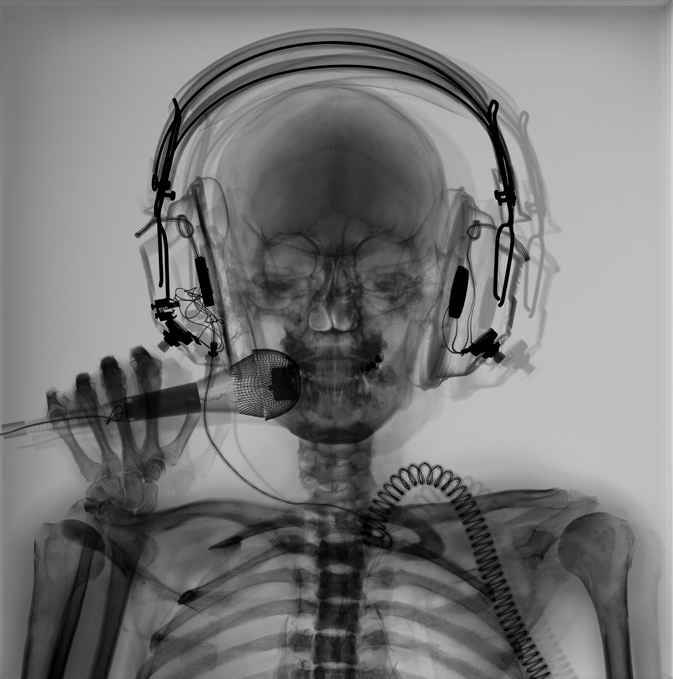 DJ by  Nick Veasey - Masterpiece Online