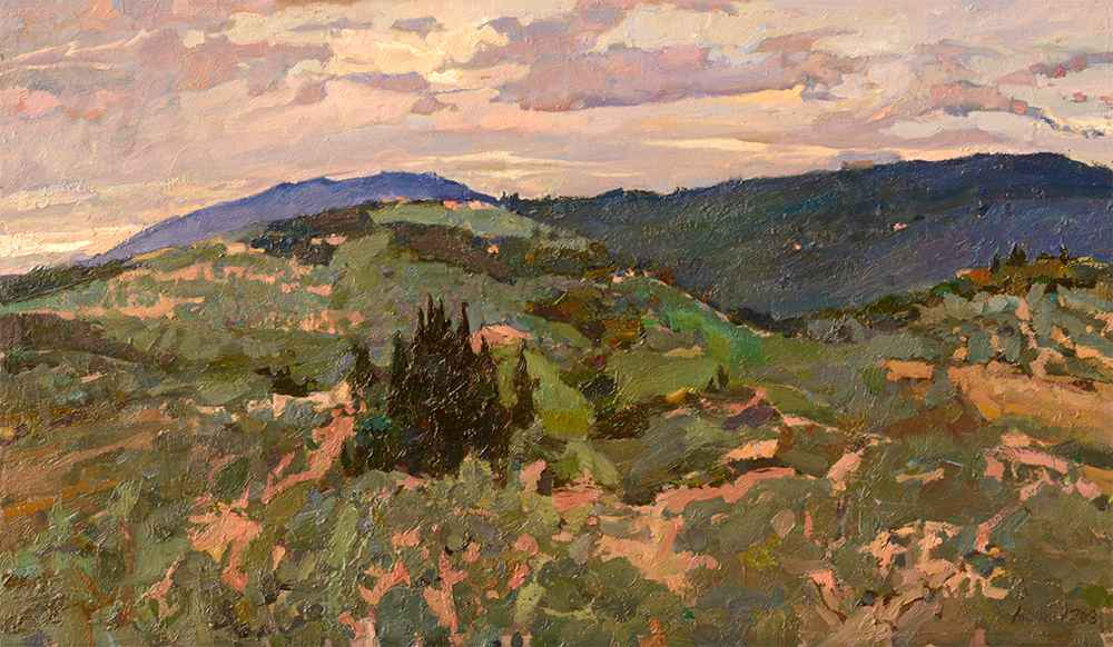 The Little Cypress Gr... by  Daud Akhriev - Masterpiece Online