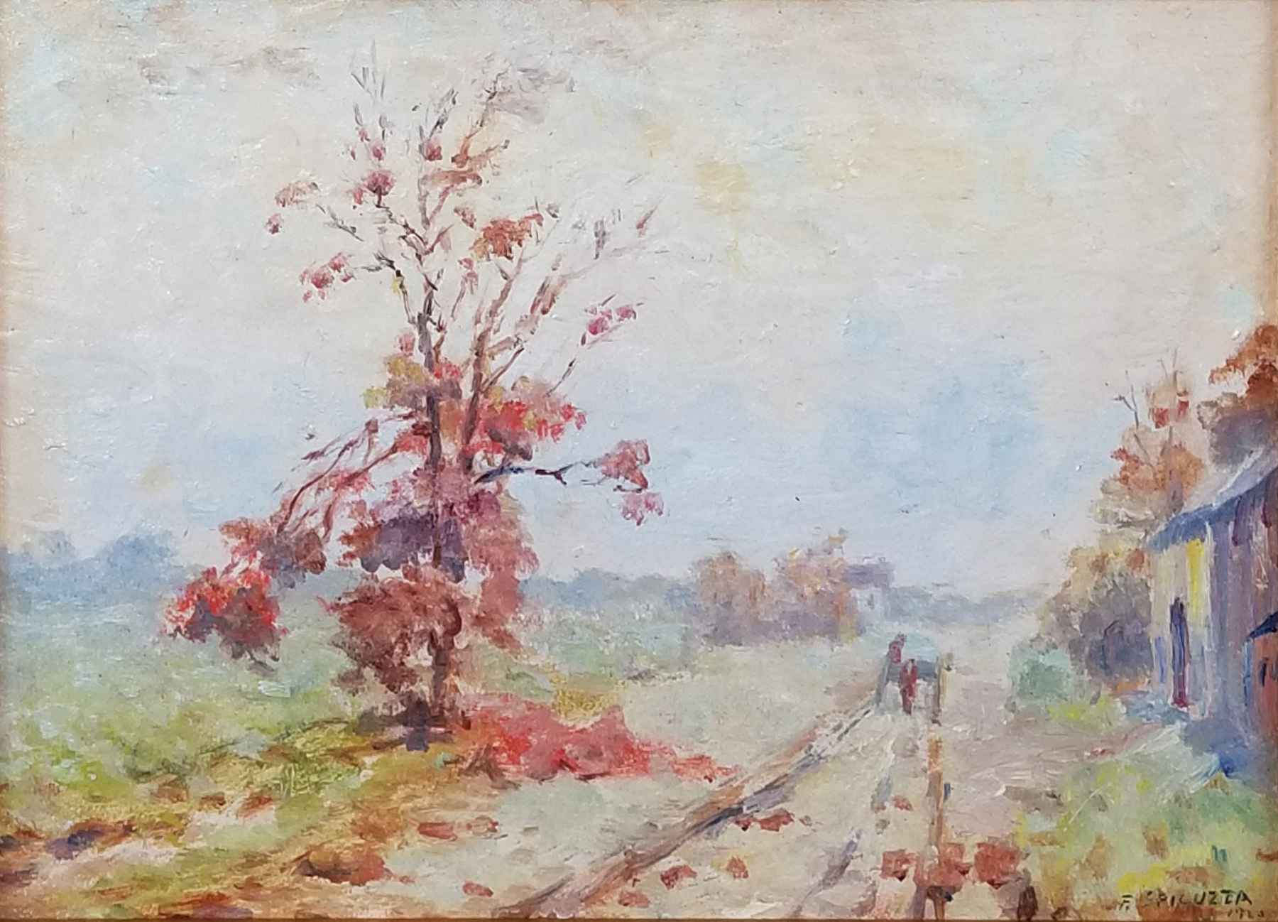 Untitled (Lane with T... by Mr. Francesco Spicuzza - Masterpiece Online
