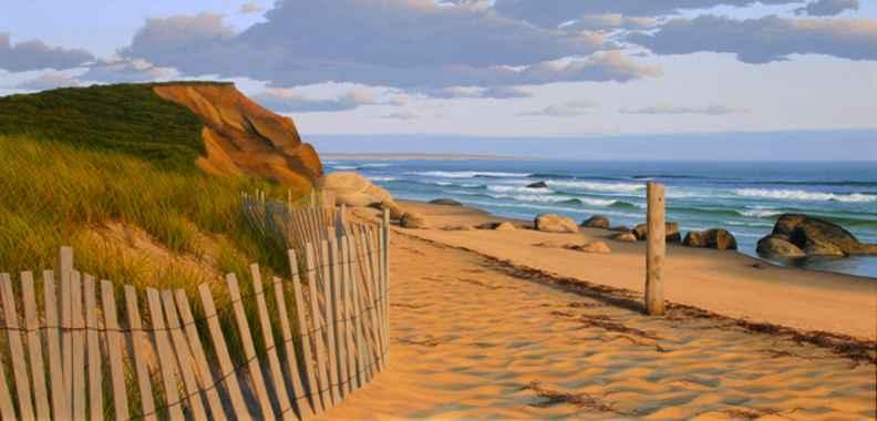 Vineyard Beach by  Forrest Rodts - Masterpiece Online